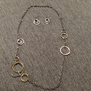 Premier Designs necklace and earrings